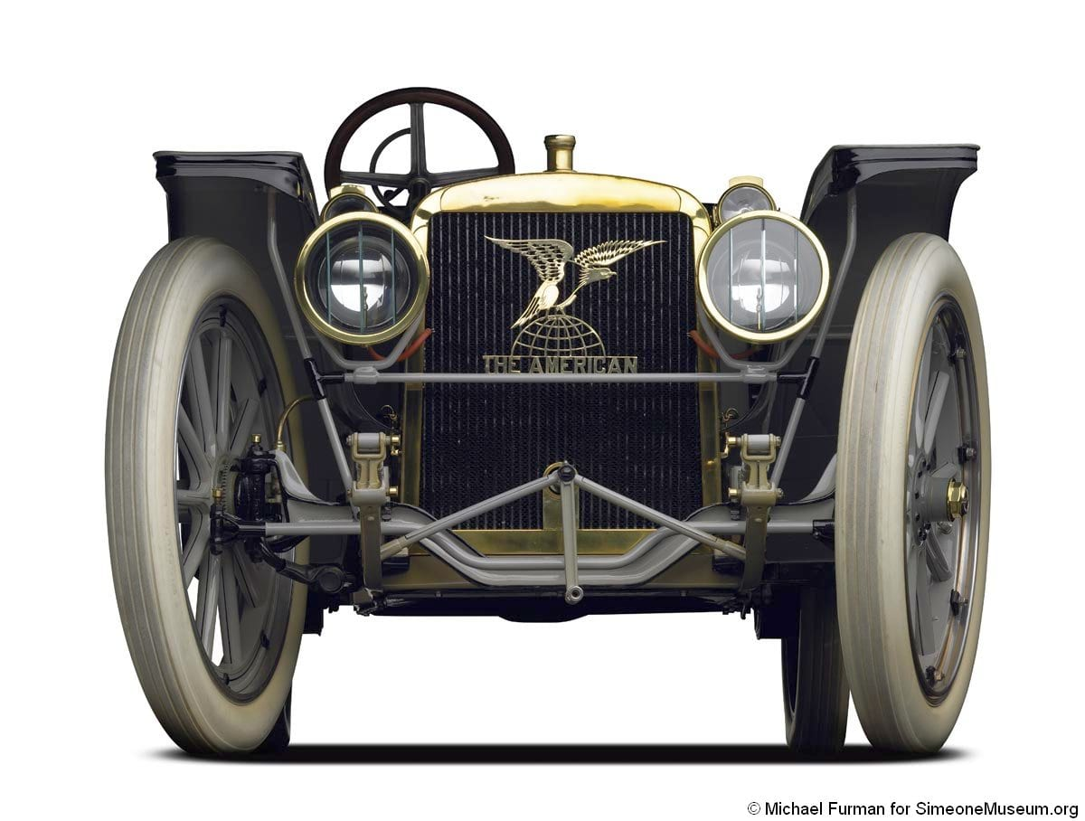 1909 American Underslung Traveler | Simeone Foundation Automotive Museum